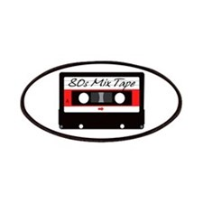 80s Music Mix Tape Cassette Patches