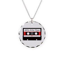 80s Music Mix Tape Cassette Necklace