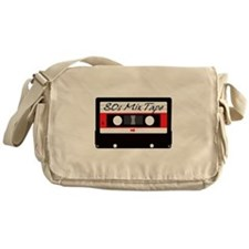 80s Music Mix Tape Cassette Messenger Bag