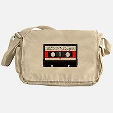 80s Music Mix Tape Cassette Messenger Bag