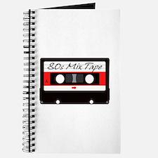 80s Music Mix Tape Cassette Journal