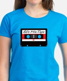 80s Music Mix Tape Cassette Tee