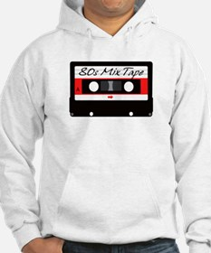 80s Music Mix Tape Cassette Hoodie