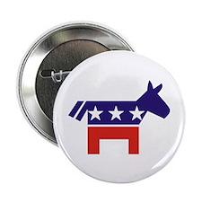 Democrat Donkey v2 Button (100 pk)