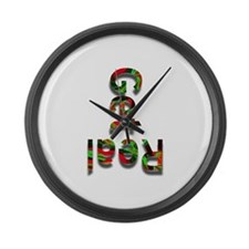 Get Real! Large Wall Clock