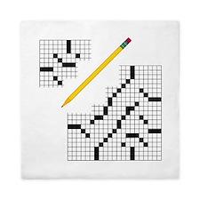 Crossword Queen Duvet