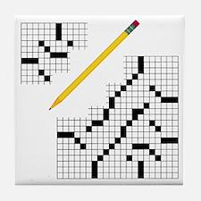 Crossword Tile Coaster