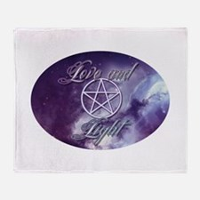 Love and Light Throw Blanket