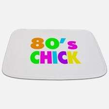 Neon Colors 80's Chick Bathmat