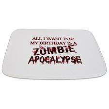 Birthday Zombie Apocalypse Bathmat