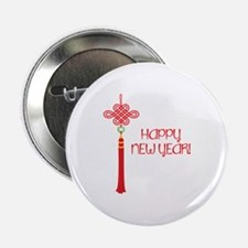 """Happy New Year 2.25"""" Button"""