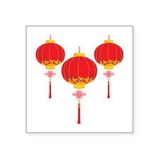 Chinese New Year Lanterns Sticker
