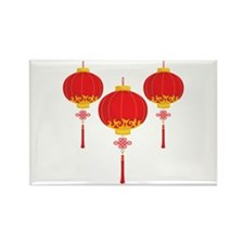 Chinese New Year Lanterns Magnets