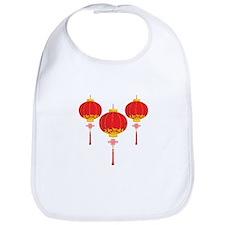 Chinese New Year Lanterns Bib