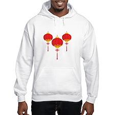 Chinese New Year Lanterns Hoodie