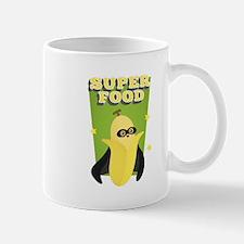 Cute Banana with Cape, Super Food Mugs