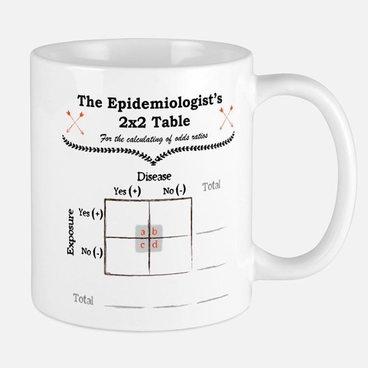 Epidemiologist Odds Ratio Mug Mugs