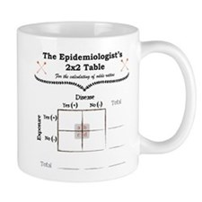 Epidemiologist Odds Ratio Small Mugs
