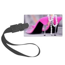 Material Girl Luggage Tag