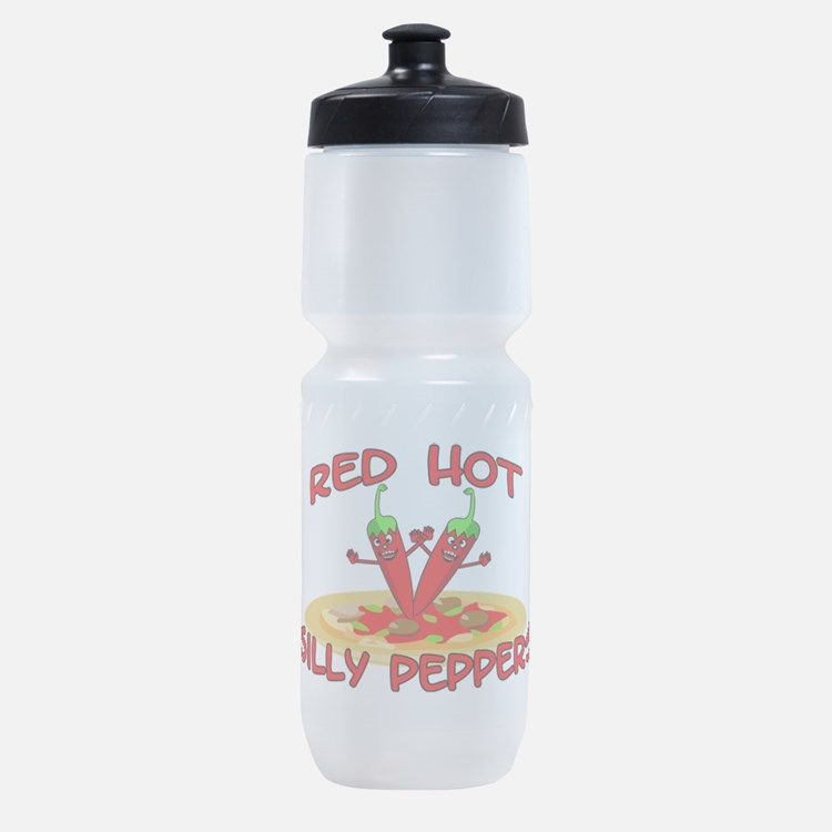 Red Hot Silly Peppers Sports Bottle