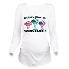 Sundae Everyday Long Sleeve Maternity T-Shirt