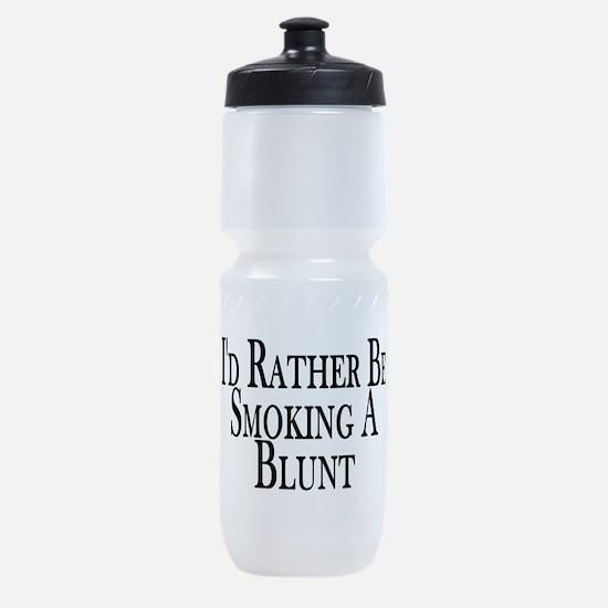 Rather Smoke Blunt Sports Bottle