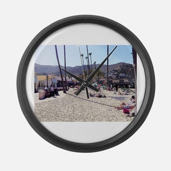 A Taste Of Catalina Island Large Wall Clock
