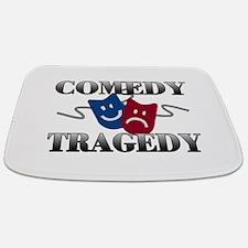 Comedy Tragedy Bathmat