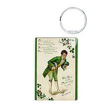 St. Patricks Day Gentleman Keychains