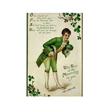 St. Patricks Day Gentleman Magnets