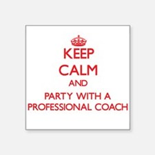 Keep Calm and Party With a Professional Coach Stic