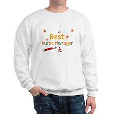 Best Nurse Manager Sweatshirt