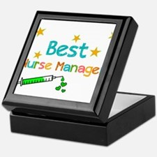 Best Nurse Manager 2 Keepsake Box