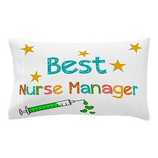 Best Nurse Manager 2 Pillow Case