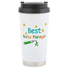 Best Nurse Manager 2 Travel Mug