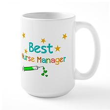 Best Nurse Manager 2 Mugs