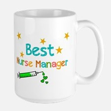 Best Nurse Manager 2 Mugs