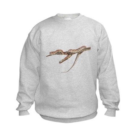 Corn Snake Photo Kids Sweatshirt