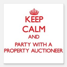 Keep Calm and Party With a Property Auctioneer Squ