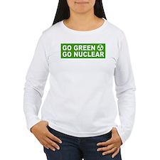 3-Go Green Go Nuclear2.tif Long Sleeve T-Shirt
