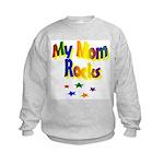 My Mom Rocks Kids Sweatshirt