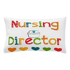 nursing director Pillow Case