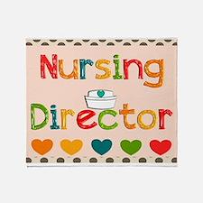 Nursing Director 2 Throw Blanket