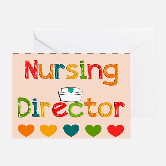 Nursing Director 2 Greeting Cards