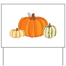 Pumpkins Yard Sign
