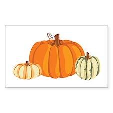 Pumpkins Decal