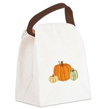 Pumpkins Canvas Lunch Bag