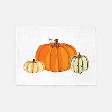 Pumpkins 5'x7'Area Rug