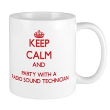 Keep Calm and Party With a Radio Sound Technician