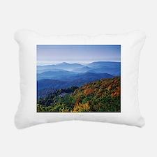 Blueridge Parkway Landsc Rectangular Canvas Pillow